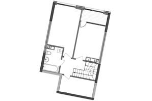 ЖК Great: планування 2-кімнатної квартири 97 м²