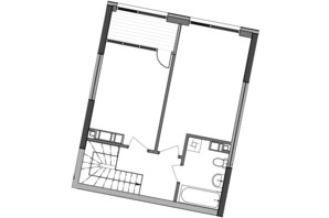 ЖК Great: планування 2-кімнатної квартири 89.17 м²