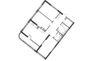 ЖК Great: планування 3-кімнатної квартири 96.82 м²