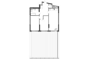 ЖК Great: планування 2-кімнатної квартири 100.14 м²