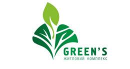 Логотип строительной компании ЖК Green`s