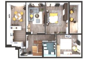ЖК Greenville Park Kyiv: планировка 6-комнатной квартиры 304.3 м²