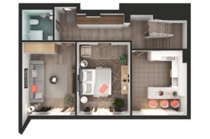 ЖК Greenville Park Kyiv: планування 3-кімнатної квартири 154.5 м²