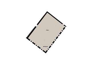 ЖК IT-парк Manufactura Next: планування 1-кімнатної квартири 347 м²