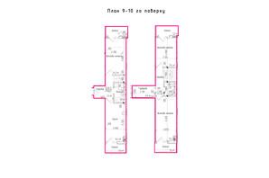 ЖК KromaxBud: планировка 3-комнатной квартиры 90 м²