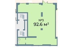 ЖК Kyiv Sky: планування приміщення 92.6 м²