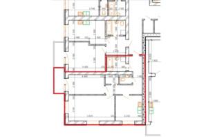 ЖК Лайм-2: планировка 2-комнатной квартиры 64 м²