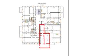 ЖК Лайм-2: планировка 2-комнатной квартиры 50 м²