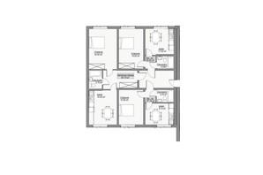 ЖК Лайм-2: планировка 1-комнатной квартиры 44 м²