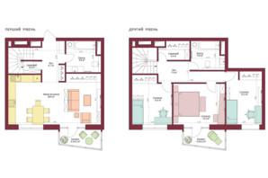 ЖК Legenda: планировка 3-комнатной квартиры 111.3 м²