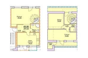 ЖК Lemberg: планировка 4-комнатной квартиры 101 м²