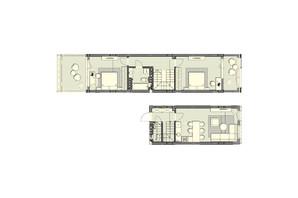 ЖК Luxberry lakes & forest: планування 2-кімнатної квартири 89.7 м²