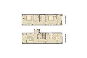 ЖК Luxberry lakes & forest: планування 3-кімнатної квартири 121.2 м²
