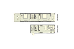 ЖК Luxberry lakes & forest: планировка 2-комнатной квартиры 97.2 м²