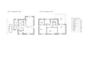 ЖК Липові Роси: планування 4-кімнатної квартири 134.6 м²