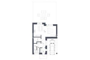 ЖК Липові Роси: планировка 3-комнатной квартиры 112.65 м²