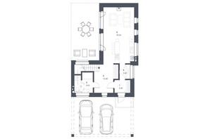 ЖК Липові Роси: планировка 3-комнатной квартиры 119.49 м²