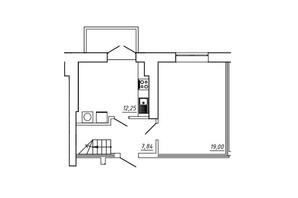 ЖК МЖК Сім'я: планування 3-кімнатної квартири 92.13 м²