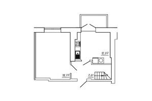 ЖК МЖК Сім'я: планування 3-кімнатної квартири 90.58 м²