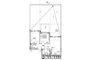 ЖК Manhattan: планування 2-кімнатної квартири 89.15 м²