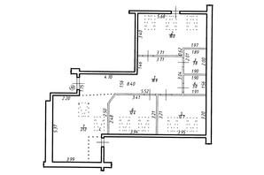 ЖК Містечко Центральне: планировка 3-комнатной квартиры 90 м²