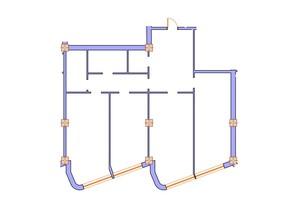 ЖК Морська симфонія: планування 3-кімнатної квартири 139.4 м²