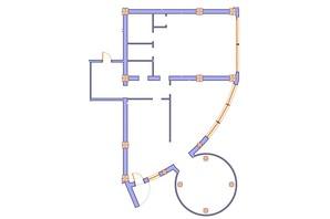 ЖК Морська симфонія: планування 3-кімнатної квартири 182 м²