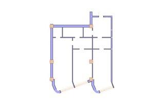 ЖК Морська симфонія: планування 2-кімнатної квартири 112.1 м²