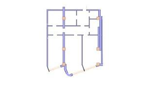 ЖК Морська симфонія: планування 2-кімнатної квартири 114 м²