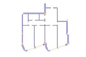 ЖК Морська симфонія: планування 3-кімнатної квартири 143.7 м²
