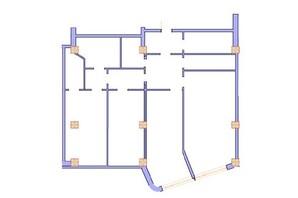 ЖК Морська симфонія: планування 3-кімнатної квартири 159.3 м²