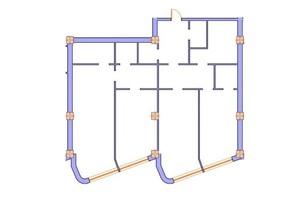 ЖК Морська симфонія: планування 3-кімнатної квартири 159 м²