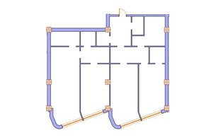 ЖК Морська симфонія: планування 3-кімнатної квартири 160.2 м²