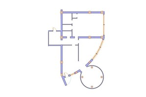 ЖК Морська симфонія: планування 3-кімнатної квартири 181.1 м²