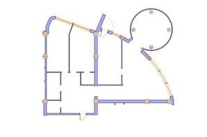 ЖК Морська симфонія: планування 4-кімнатної квартири 188.7 м²