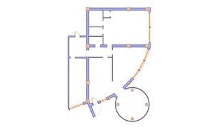 ЖК Морська симфонія: планування 3-кімнатної квартири 203.4 м²