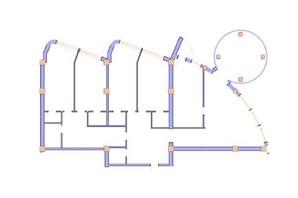 ЖК Морська симфонія: планування 4-кімнатної квартири 264.8 м²