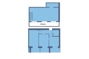 ЖК Мрія Миколаїв: планування 3-кімнатної квартири 108 м²