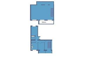 ЖК Мрія Миколаїв: планування 4-кімнатної квартири 135 м²
