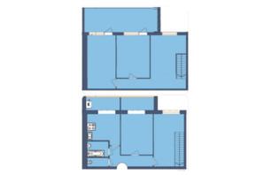 ЖК Мрія Миколаїв: планування 4-кімнатної квартири 138.1 м²