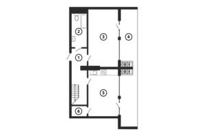 ЖК НАЦІОНАЛЬНИЙ: планування 3-кімнатної квартири 137.04 м²