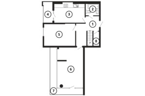 ЖК НАЦІОНАЛЬНИЙ: планировка 5-комнатной квартиры 169 м²