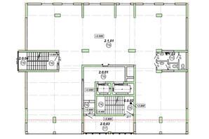 ЖК НАЦІОНАЛЬНИЙ: планировка помощения 310 м²