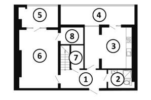 ЖК Национальный: планировка 4-комнатной квартиры 133 м²