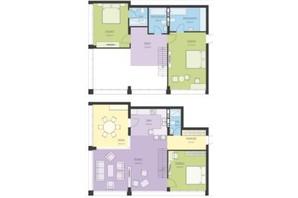 ЖК Новий Поділ: планування 4-кімнатної квартири 148.11 м²