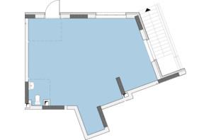 ЖК Нивки-Парк: планировка 1-комнатной квартиры 48.21 м²