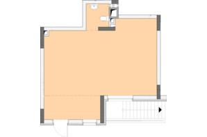 ЖК Нивки-Парк: планировка 1-комнатной квартиры 48.88 м²