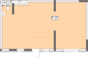 ЖК Нивки-Парк: планировка 2-комнатной квартиры 67.44 м²