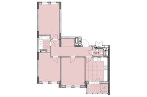 ЖК Нивки-Парк: планировка 3-комнатной квартиры 85.68 м²