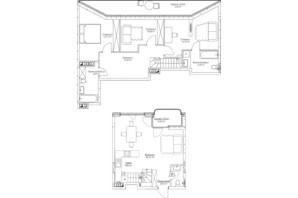 ЖК O2 Residence: планировка 4-комнатной квартиры 109.77 м²
